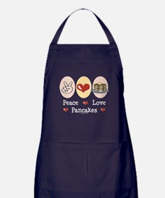 Peace Love Pancakes Apron