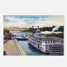 1930's Ohio River Boat Postcards (Package of 8)