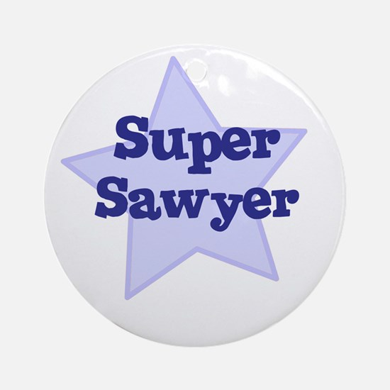 Super Sawyer Ornament (Round)