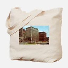 1950's Youngtown Central Square Tote Bag