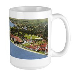 1930's View of Portsmouth Mug