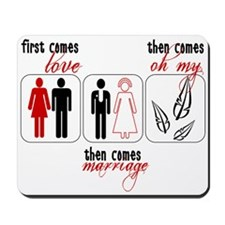 Twilight - First Comes Love Mousepad