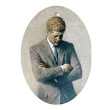 John f kennedy Oval Ornaments