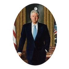 Bill Clinton Christmas Ornament