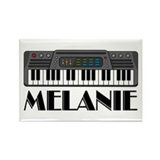 Personalized Keyboard Melanie Rectangle Magnet