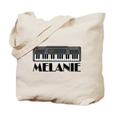 Personalized Keyboard Melanie Tote Bag
