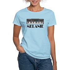 Personalized Keyboard Melanie T-Shirt