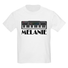 Personalized Keyboard Melanie T-Shirt