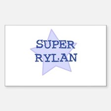 Super Rylan Rectangle Decal