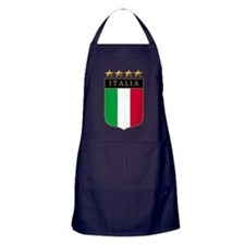 Italian 4 Star flag Apron (dark)