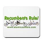 Recumbents Rule Mousepad