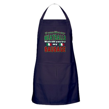 Italian Food Apron (dark)
