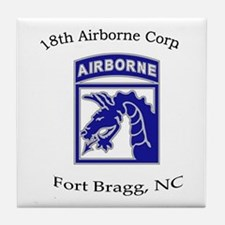18th ABN Corps Tile Coaster