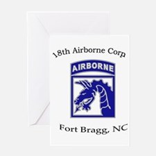 18th ABN Corps Greeting Card