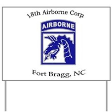 18th ABN Corps Yard Sign