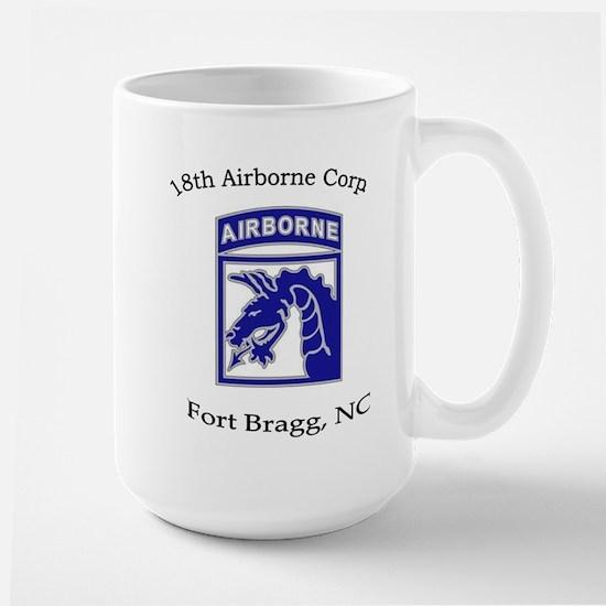18th ABN Corps Large Mug