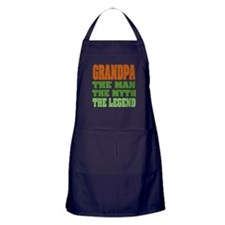 Grandpa - The Legend Apron (dark)