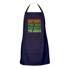 Great Grandpa - The Legend Apron (dark)