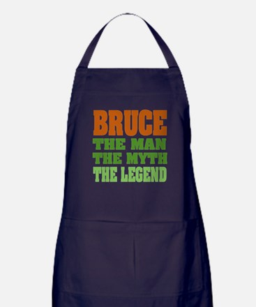 BRUCE - The Legend Apron (dark)