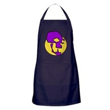 Purple Skull Apron (dark)