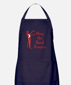 Obey the Band Director Apron (dark)