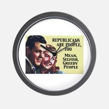 Republicans Are - On a Wall Clock