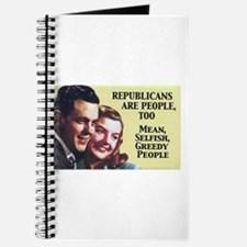Republicans Are - On a Journal