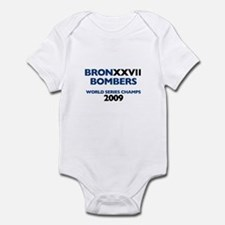 BronxxvII Bombers Dark Infant Bodysuit
