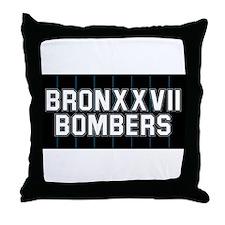 BRONXXVII BOMBERS 3 Throw Pillow
