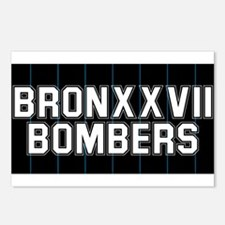 BRONXXVII BOMBERS 3 Postcards (Package of 8)