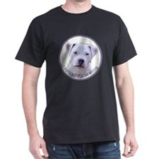 american bulldogPUPPY Black T-Shirt