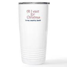 All I Want Travel Mug