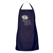 The Alchemy of Producing Apron (dark)