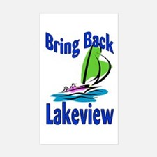 Rebuild Lakeview Rectangle Decal