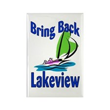 Rebuild Lakeview Rectangle Magnet (10 pack)