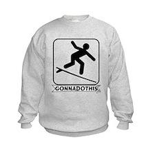 GONNADOTHIS.COM-Surfing- Sweatshirt