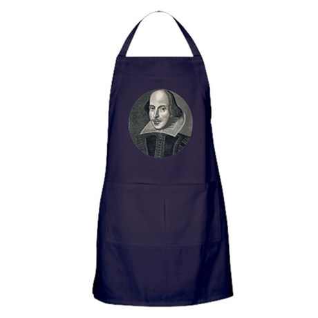 Wm Shakespeare Apron (dark)