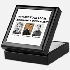 Beware community organizer Keepsake Box