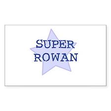 Super Rowan Rectangle Decal
