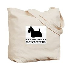 Obey the SCOTTIE! Scottish Terrier Tote Bag