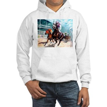 DOWN THE FIRST TURN Hooded Sweatshirt