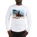 DOWN THE FIRST TURN Long Sleeve T-Shirt