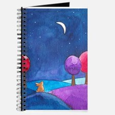 Moon gazing hare Journal