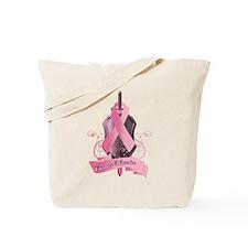 """""""Cancer Warrior"""" Tote Bag"""