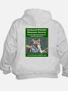 NWHS Hoodie - Tiger On Back!