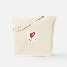Funny Mahogany Tote Bag