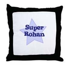Super Rohan Throw Pillow
