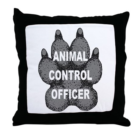 Animal Control Officer Throw Pillow