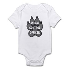 Animal Control Officer Infant Bodysuit