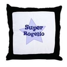 Super Rogelio Throw Pillow
